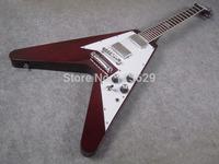 FV Guitar, 120TH Anniversary,  High Quality Electric Guitar, Dark Red