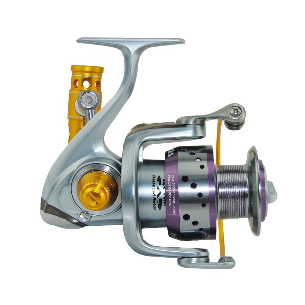 Ecooda HS8000 Aluminum Spool Saltwater Fishing Spinning Reel Fishing Reel Big Game Reel 8BBS(China (Mainland))