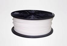 White color 3d printer filaments ABS 1.75mm/3mm 1kg plastic Rubber Consumables Material