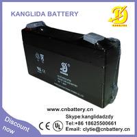 6v 1.3ah rechargeable sealed lead acid battery