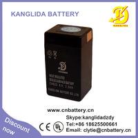 6v 2ah rechargeable sealed lead acid battery