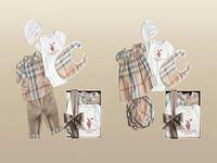 2015 New Arrival Baby clothing set 5pcs Baby Romper+baby girl dress+bib+hat+pants+baby boy blouse+pp pants vestidos kids clothes