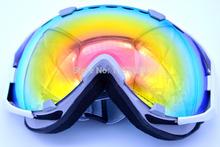 Free Shipping 2015 New genuine ski goggles double lens anti-fog Sking glasses unisex multicolor snow glogges 1006(China (Mainland))