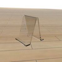 50X50X80MM acrylic shoe support