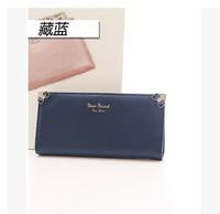 2015 Wallets Carteira Masculina Zipper Poucht Pu New Korean Cute Rhinestone Purse In Women's Long Wallet Ladies Factory Direct