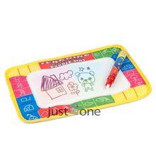 Good Water Drawing Toys Aquadoodle Mat & Magic Pen Water Drawing Board Play Mat Dry Soon hot(China (Mainland))