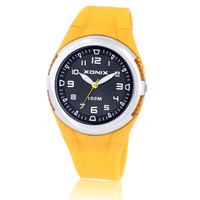 [Free Shipping] Xonix fashion brief multi-colored all-match waterproof watches girls RL