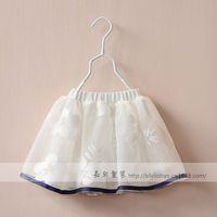 New 2015 Boutique girls lace skirt baby girls tutu skirt 5pcs/lot
