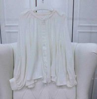Blusas Femininas Blouse 2014 Luxury Brand Women 100% Silk Women Blouses