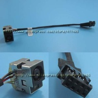 Free shipping5x New Power DC Jack with Cable Connector Socket fit for  HP 4540s 4545S