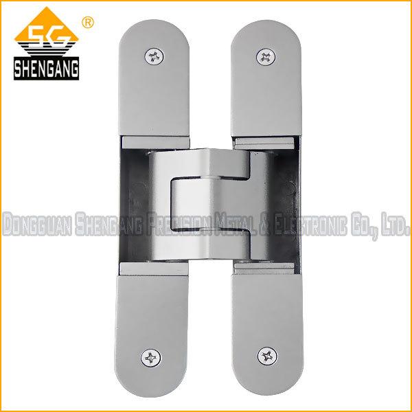 180 degree concealed adjustable door hinge(China (Mainland))