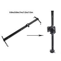 """Professional Portable 60cm / 24"""" Sliding-pad Video slider Camera Track dslr Slider Stabilizer System for DSLR Camcorders"""