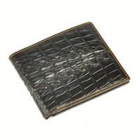 2015 designer Man purse leather money clip boss cross short crocodile style men's purse