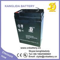 6v 6ah  rechargeable sealed lead acid battery