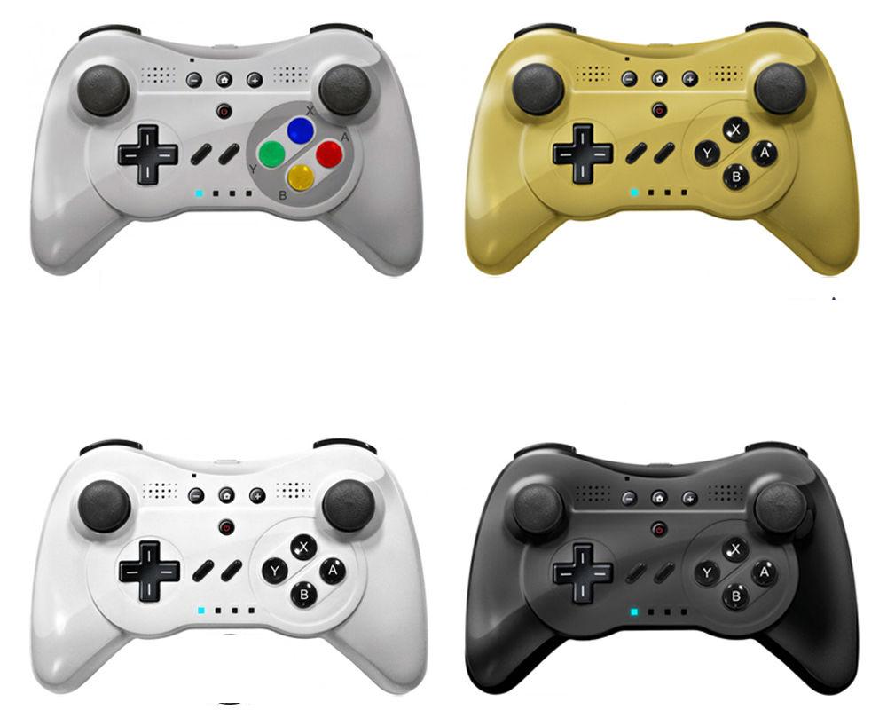 New Wireless Game Classic Pro Controller GamePad Remote For Nintendo WiiU(China (Mainland))
