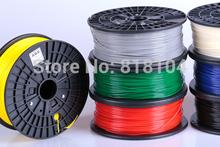 3d printer filaments PLA/ABS 1.75mm/3mm 1kg plastic Rubber Consumables Material