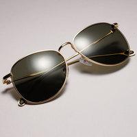 Matal Sunglasses men round vintage sun glasses women  2015 new style sunglasses for unisex eyewear  free shipping G230