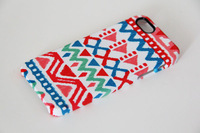 New 3D Full Wrap Print  Retro Ethnic Native Cover Case for iPhone 5S and iPhone 5  Free Shipping Custom Personalized Case