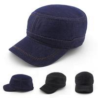 2015 Summer-Spring Baseball Cap Cowboy Hat Mens Fashion Wild Korean Tidal Flat Cap Sun Snapback Hats Free Shipping