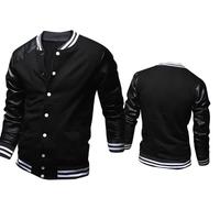 2015 New Sweatshirt Sport Suit For Men Men Slim Baseball Uniform  Fashion Hoody Jackets Autumn Casual Cardigans PJ06