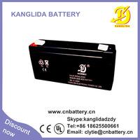 6v 3.3ah rechargeable sealed lead acid battery