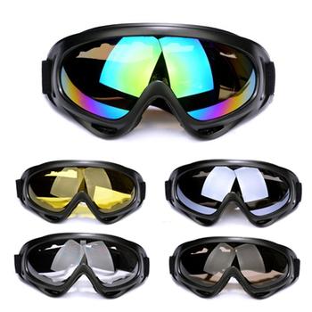 Qr-x400 100% UVA / UVB мужчины женщины на открытом воздухе спорт ветрозащитный очки сноуборд очки пыленепроницаемый мотокросс очки