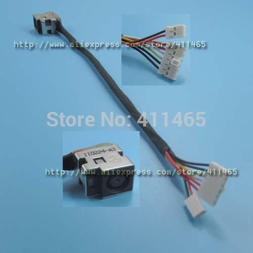 New DC Power Jack cable for HP Pavilion DV6 DV6T DV6Z DV6T-1000 6PCS+2PCS(China (Mainland))