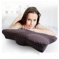 Sleep butterfly pillow neck health memory pillow cervical pillow memory pillow