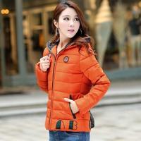 Down coat short design female 2014 slim all-match 2a6d51b2 plus size