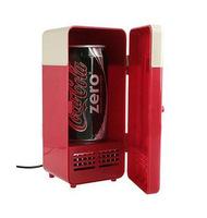 Wholesale 20pcs/lot  New Mini USB USB Fridge Cooler Gadget Beverage Drink Cans Cooler/Warmer Refrigerator