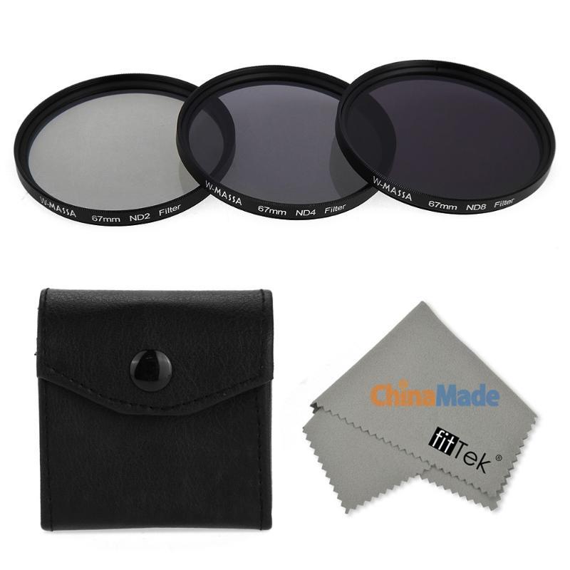 fitTek MASSA Waterproof Oilproof Scratchproof 67mm ND Filter Kit(China (Mainland))