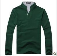 2015 t shirt cotton t shirts men's body building men new t-shirt v neck long sleeve t shirt t shirt men tshirt
