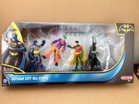 New Lot 5 DC Comics Batman The joker Robin two face 4'' Figure Gotham City FW151