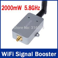 5.8GHz 2000mW WiFi Signal Booster 2000mW /2W 5.0GHz  150Mbps Broadband Sunhans WiFi Amplifiers/Booster