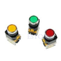 Free Shipping 1PC Momentary Push Button Press Switch Heavy Duty Power LA38-11/203