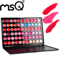 2015 Hot  MSQ New Arrivel Products- 66 Color Fascinated Lip Palette For Retailers
