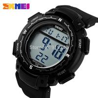 Free shipping 2015 fashion casual Men Personality watch Multifunctional waterproof Digital Electronic Wristwatches Black--lkoi