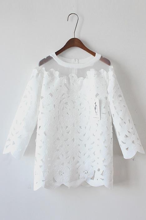 Белая Блузка Для Девочки С Доставкой