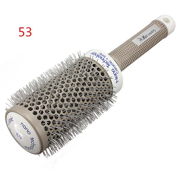 1pcs Hairbrush Ceramic Ionic Round Comb Barber Hair Dressing Salon Styling Tools Brushes 5 Sizes Barrel Best Price(China (Mainland))