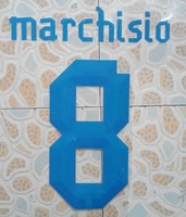 free shipping 2013-2014 ITALY away MARCHISIO #8 name numbering individuation name numbering