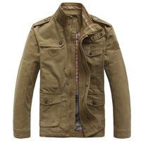 UDOD High Quality Brand Mens Jackets and Coats Spring Autumn Casual Jackets 100% Cotton Outwear L XL XXL XXXL 4XL JR8255