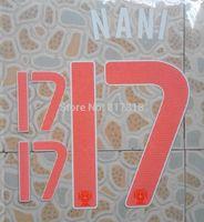free shipping PINK Portugal NANI #17 name numbering individuation name numbering