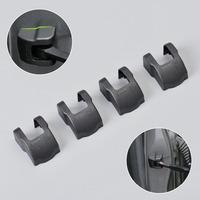4pcs Door Check Arm Waterproof Protection Cover Kit For Peugeot 208 301 2008 3008 508 Citroen C4L Quatre DS