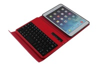 2 in 1 Ultra Slim ABS Detachable Removable Wireless Bluetooth Keyboard+Leather Stand Cover Case For Apple Ipad Mini 1 2 3