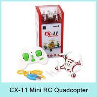 Cheerson CX-11 2.4G Mini RC Drone 4CH 6 Axis Gyro LED Nano Helicopter Quadcopter Remote Control Toys For Children VS UDI U830