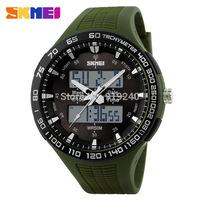 Free shipping 2015 fashion casual Men Personality watch Multifunctional waterproof Digital Electronic Wristwatches 4 colors--tds