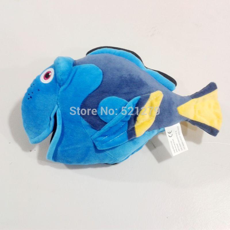 Free shipping 1pcs 30cm Cute Finding Dory Stuffed Plush Doll Dory Fish stuffed doll(China (Mainland))
