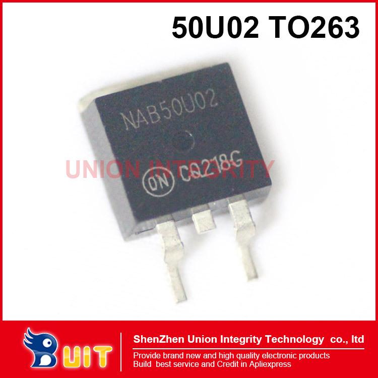 Free Shipping 5PCS NAB 50U02 TO263 Wuling Motorola 465 engine ignition cartridge body control computer board(China (Mainland))