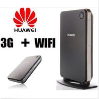 Unlocked Huawei B260a 7.2M 3G WCDMA 900/2100Mhz LAN/WLAN Wireless Gateway Router SIM Card WiFi Hotspot External Antenna Port