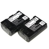 Tianfen 2Pcs LP E6 LP-E6 LPE6 2100mAh 7.2v Li-ion Camera Battery for Canon 6D 5D Mark III 5D Mark II 7D 60D LP-E6 Bateria